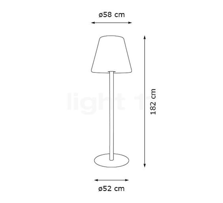 Edison the giant  lampe a poser table lamp  fatboy 102848  design signed 58745 product