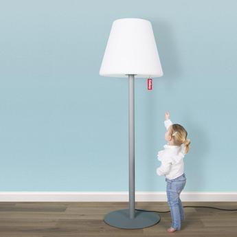 Lampe a poser edison the giant gris souris led o58cm h182cm fatboy normal