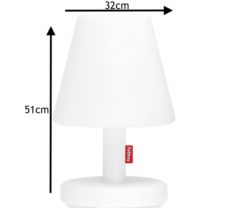 Edison the medium  lampe a poser table lamp  fatboy 100679  design signed 58735 product