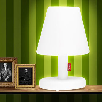 Lampe a poser edison the medium blanc led o32cm h51cm fatboy normal