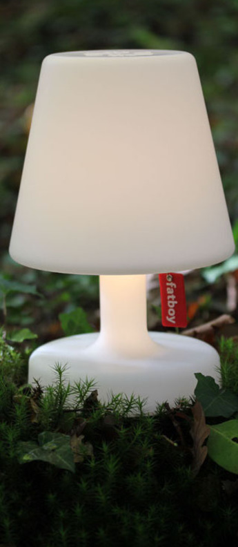 Lampe a poser edison the petit blanc led o16cm h25cm fatboy normal