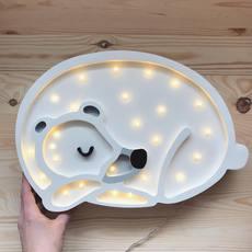 Bear studio little lights lampe a poser enfant kids table lamp  little lights bear white  design signed nedgis 73244 thumb