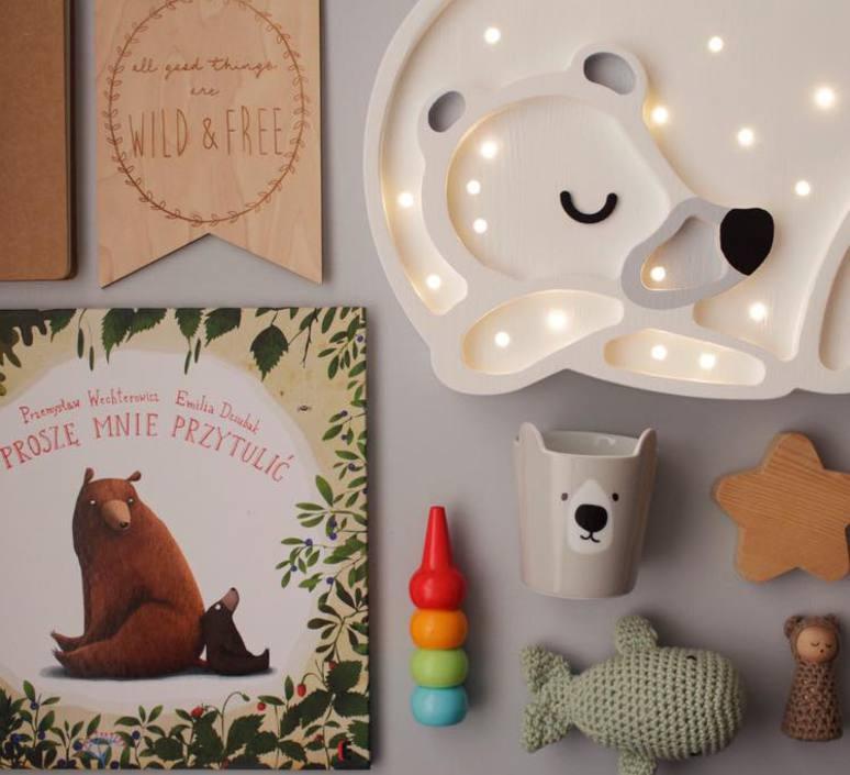 Bear studio little lights lampe a poser enfant kids table lamp  little lights bear white  design signed nedgis 73245 product
