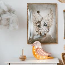 Bird studio little lights lampe a poser enfant kids table lamp  little lights bird honey  design signed nedgis 125971 thumb