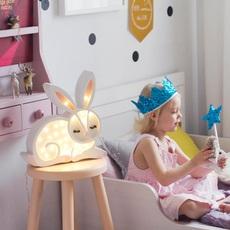 Bunny studio little lights lampe a poser enfant kids table lamp  little lights bunny white  design signed nedgis 73271 thumb