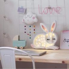 Bunny studio little lights lampe a poser enfant kids table lamp  little lights bunny white  design signed nedgis 73273 thumb