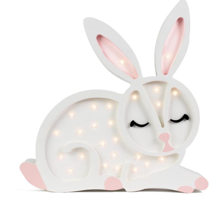 Bunny studio little lights lampe a poser enfant kids table lamp  little lights bunny white  design signed nedgis 73277 product