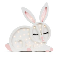 Bunny studio little lights lampe a poser enfant kids table lamp  little lights bunny white  design signed nedgis 73277 thumb