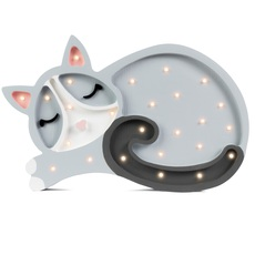 Cat studio little lights lampe a poser enfant kids table lamp  little lights cat lightgrey  design signed nedgis 73290 thumb
