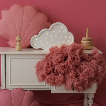 Lampe a poser enfant cloud blanc l37cm h23cm little lights normal