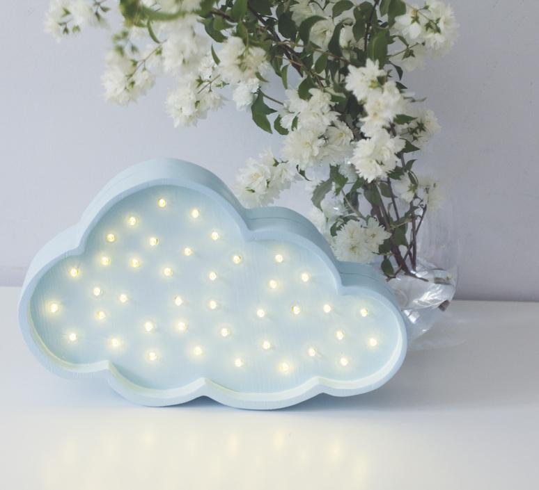 Cloud studio little lights lampe a poser enfant kids table lamp  little lights cloud blue  design signed nedgis 125969 product