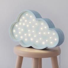 Cloud studio little lights lampe a poser enfant kids table lamp  little lights cloud blue  design signed nedgis 125970 thumb