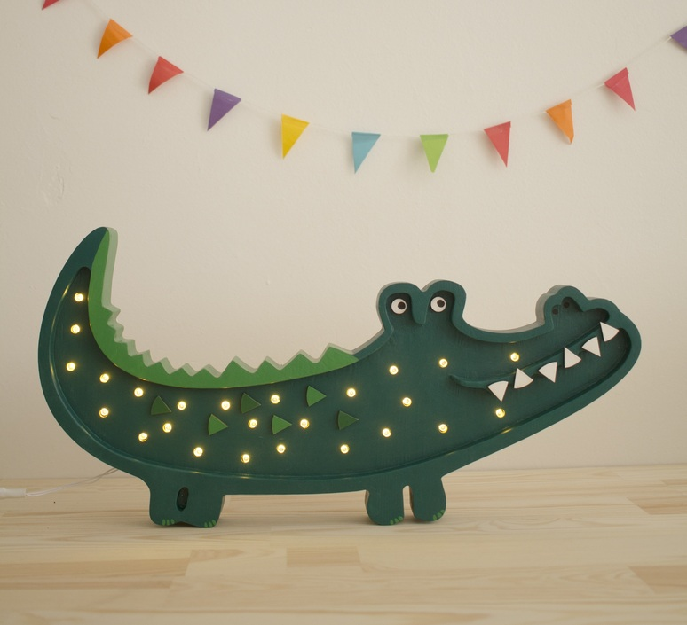 Crocodile studio little lights lampe a poser enfant kids table lamp  little lights ll052 375   design signed nedgis 125938 product