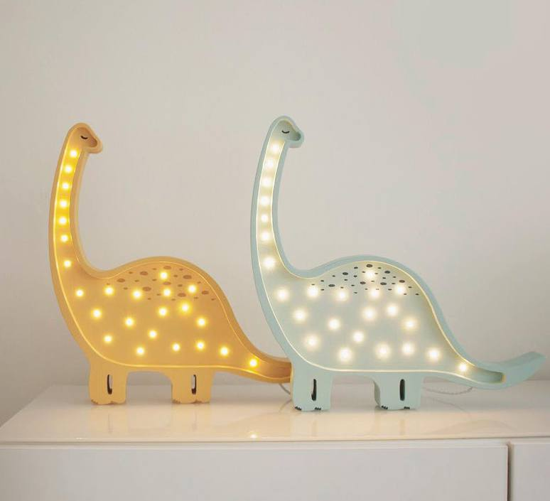 Diplodocus studio little lights lampe a poser enfant kids table lamp  little lights diplodocus wood  design signed nedgis 73333 product