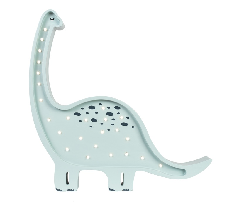 Diplodocus studio little lights lampe a poser enfant kids table lamp  little lights diplodocus mint  design signed nedgis 73322 product