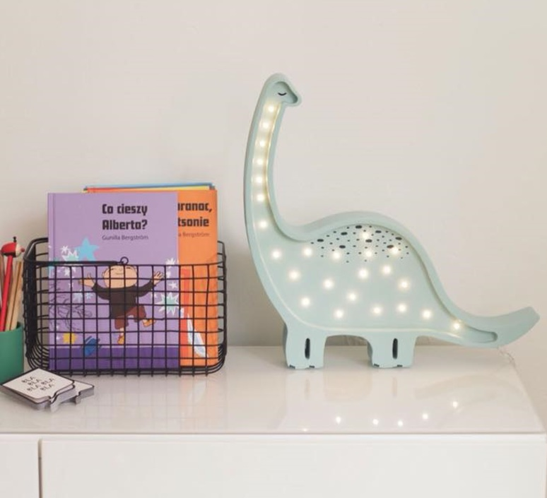 Diplodocus studio little lights lampe a poser enfant kids table lamp  little lights diplodocus mint  design signed nedgis 73326 product