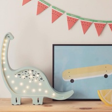 Diplodocus studio little lights lampe a poser enfant kids table lamp  little lights diplodocus mint  design signed nedgis 73329 thumb