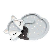 Fox studio little lights lampe a poser enfant kids table lamp  little lights fox grey  design signed nedgis 73344 thumb