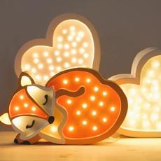 Fox studio little lights lampe a poser enfant kids table lamp  little lights fox wildorange  design signed nedgis 73336 thumb