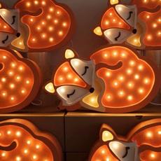 Fox studio little lights lampe a poser enfant kids table lamp  little lights fox wildorange  design signed nedgis 73340 thumb