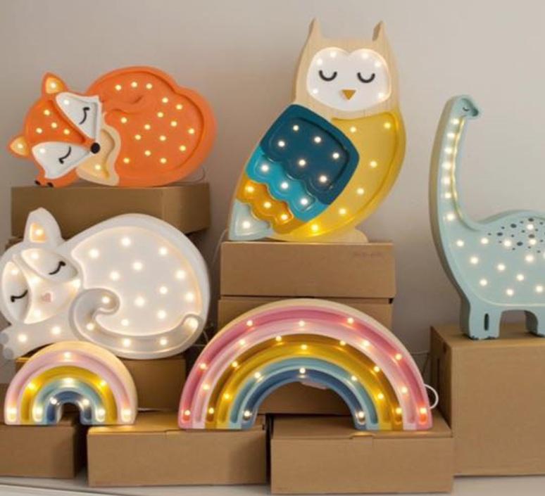 Fox studio little lights lampe a poser enfant kids table lamp  little lights fox wildorange  design signed nedgis 73341 product