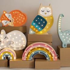 Fox studio little lights lampe a poser enfant kids table lamp  little lights fox wildorange  design signed nedgis 73341 thumb