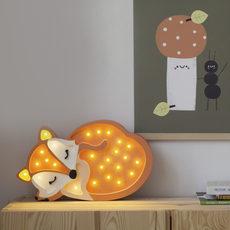 Fox studio little lights lampe a poser enfant kids table lamp  little lights fox wildorange  design signed nedgis 73342 thumb