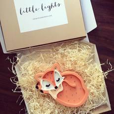 Fox studio little lights lampe a poser enfant kids table lamp  little lights fox wildorange  design signed nedgis 73343 thumb