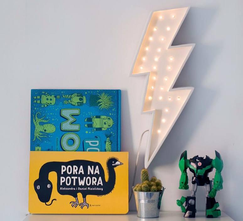 Lightning bolt studio little lights lampe a poser enfant kids table lamp  little lights lightningbolt white  design signed nedgis 73638 product