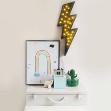 Lightning bolt studio little lights lampe a poser enfant kids table lamp  little lights lightningbolt black  design signed nedgis 73645 thumb