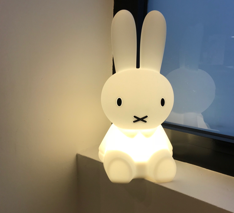 Miffy My First Light Lampe A Poser Enfant Kids Table Lamp Mr Maria Mrfirst  Design Signed