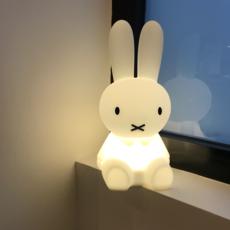 Lampe, veilleuse, lapin, First Light Miffy, blanc, LED
