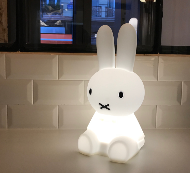 Miffy my first light  lampe a poser enfant kids table lamp  mr maria mrfirst  design signed 38511 product