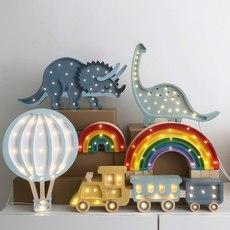 Rainbow mini studio little lights lampe a poser enfant kids table lamp  little lights rainbowmini classic  design signed nedgis 73546 thumb