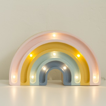 Lampe a poser enfant rainbow mini retro l20cm h12cm little lights normal
