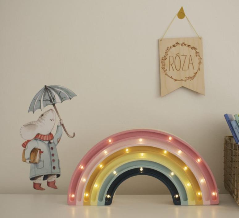 Rainbow studio little lights lampe a poser enfant kids table lamp  little lights rainbow retro  design signed nedgis 73534 product