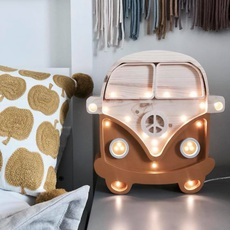 Van studio little lights lampe a poser enfant kids table lamp  little lights van mustard wood  design signed nedgis 73696 thumb