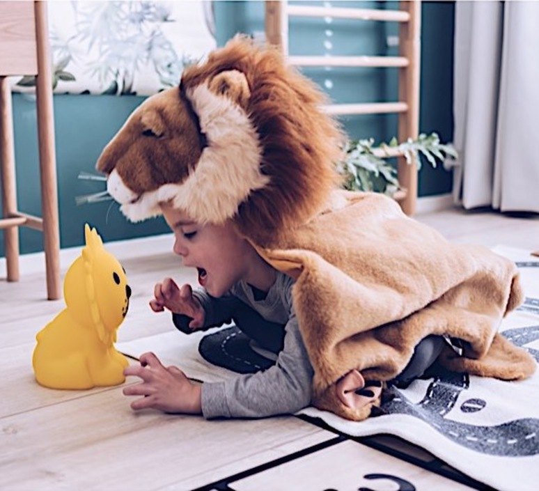 First light lion jannes hak et lennart bosker lampe a poser enfant kids table lamp  mr maria mrdb30ln01  design signed nedgis 84696 product