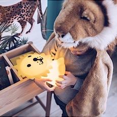 First light lion jannes hak et lennart bosker lampe a poser enfant kids table lamp  mr maria mrdb30ln01  design signed nedgis 84697 thumb
