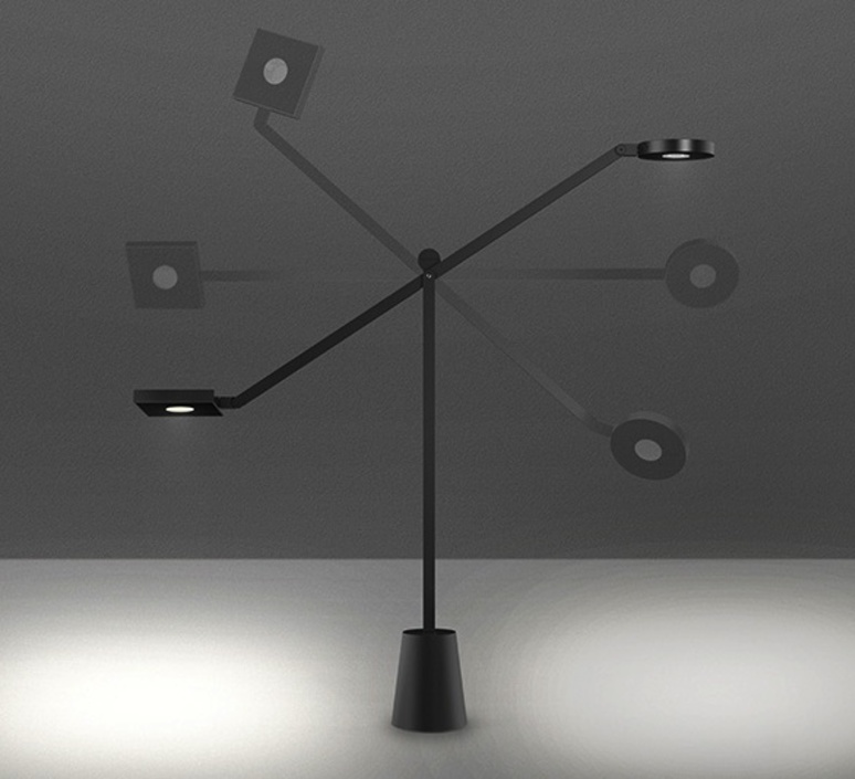 Equilibrist jean nouvel lampe a poser table lamp  artemide 1442010a  design signed 33425 product