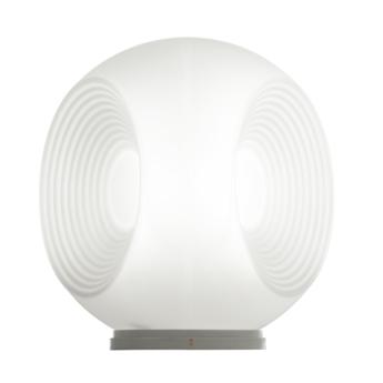 Lampe a poser eyes f34 blanc o35cm h33cm fabbian normal