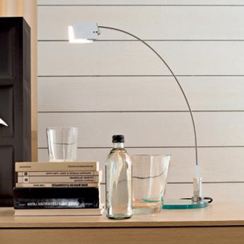Lampe a poser falena aluminium h52cm fontana arte normal