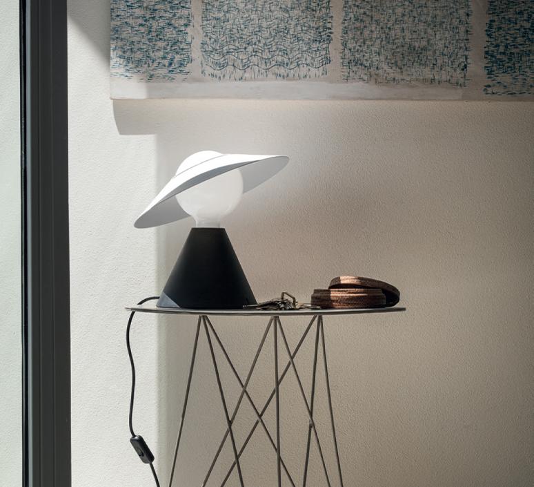 Fante studio de pas d urbino lomazzi lampe a poser table lamp  stilnovo 8966  design signed nedgis 119089 product