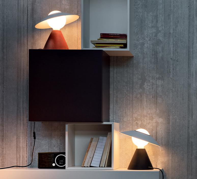 Fante studio de pas d urbino lomazzi lampe a poser table lamp  stilnovo 8966  design signed nedgis 119090 product