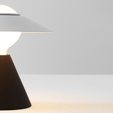 Fante studio de pas d urbino lomazzi lampe a poser table lamp  stilnovo 8966  design signed nedgis 119093 thumb