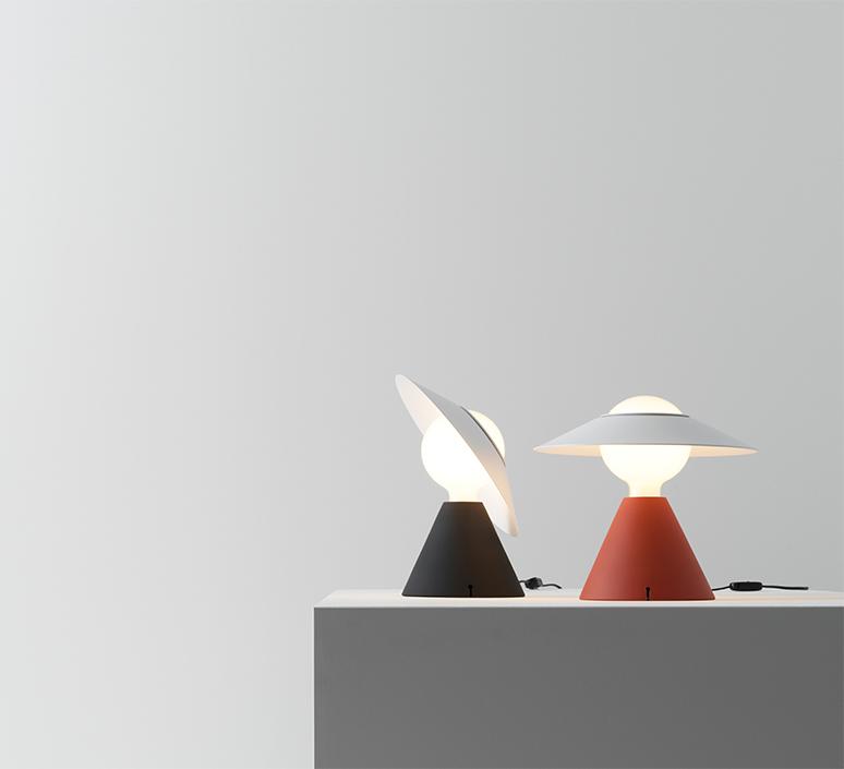 Fante studio de pas d urbino lomazzi lampe a poser table lamp  stilnovo 8966  design signed nedgis 119094 product