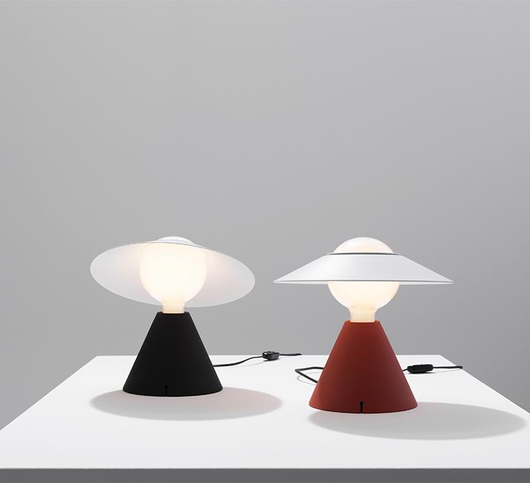 Fante studio de pas d urbino lomazzi lampe a poser table lamp  stilnovo 8966  design signed nedgis 119095 product