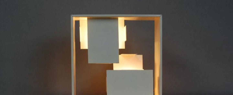 Lampe a poser fato blanc h35cm l35cm artemide normal