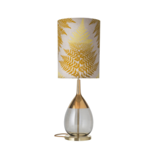 Fern leaves graphic  lampe a poser table lamp  ebb and flow ba101015 sh101046  design signed 39641 thumb