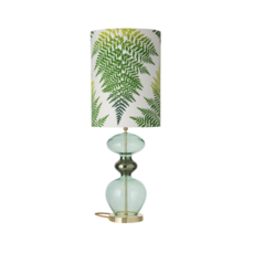 Fern leaves graphic  lampe a poser table lamp  ebb and flow ba101017 sh101048  design signed 39643 thumb